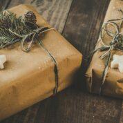 Umweltfreundliche alternative Geschenkverpackungen